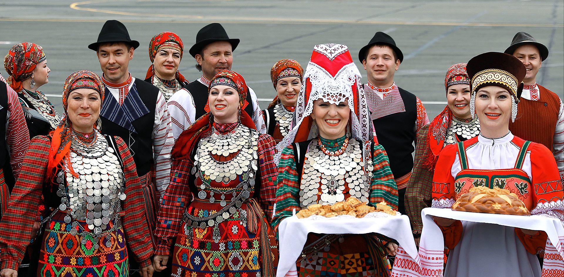 Русская берёза с финно-угорскими корнями