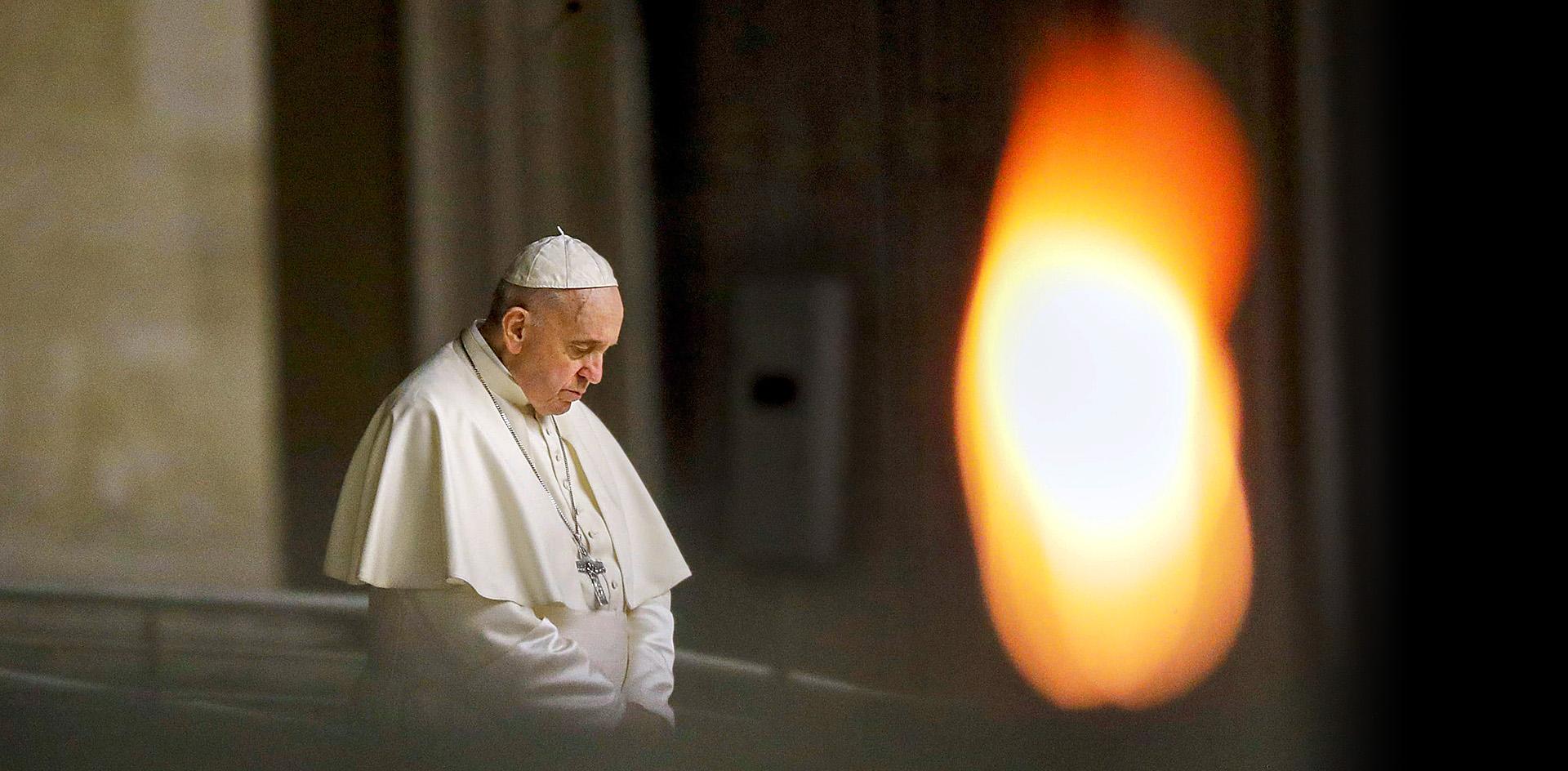 Карантин папы Франциска стал главным реалити-шоу Италии