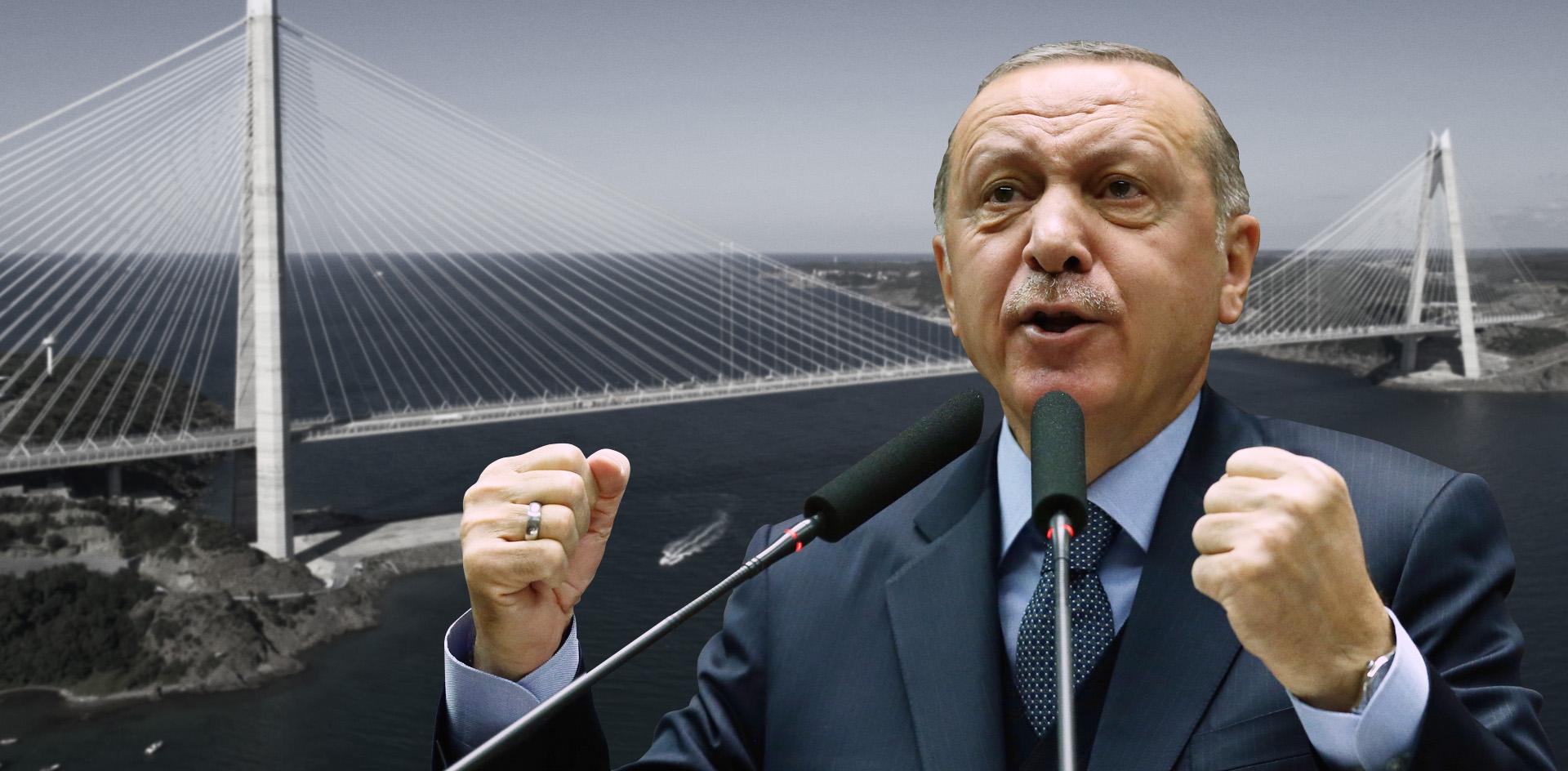 Эрдоган и его безумный проект канала «Стамбул»