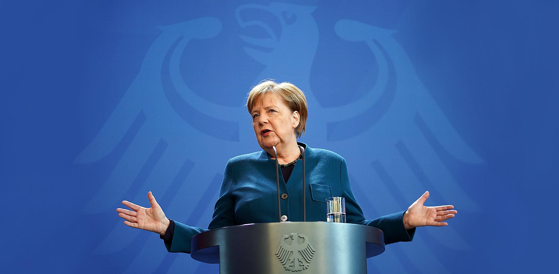 Коронавирус на службе у Меркель