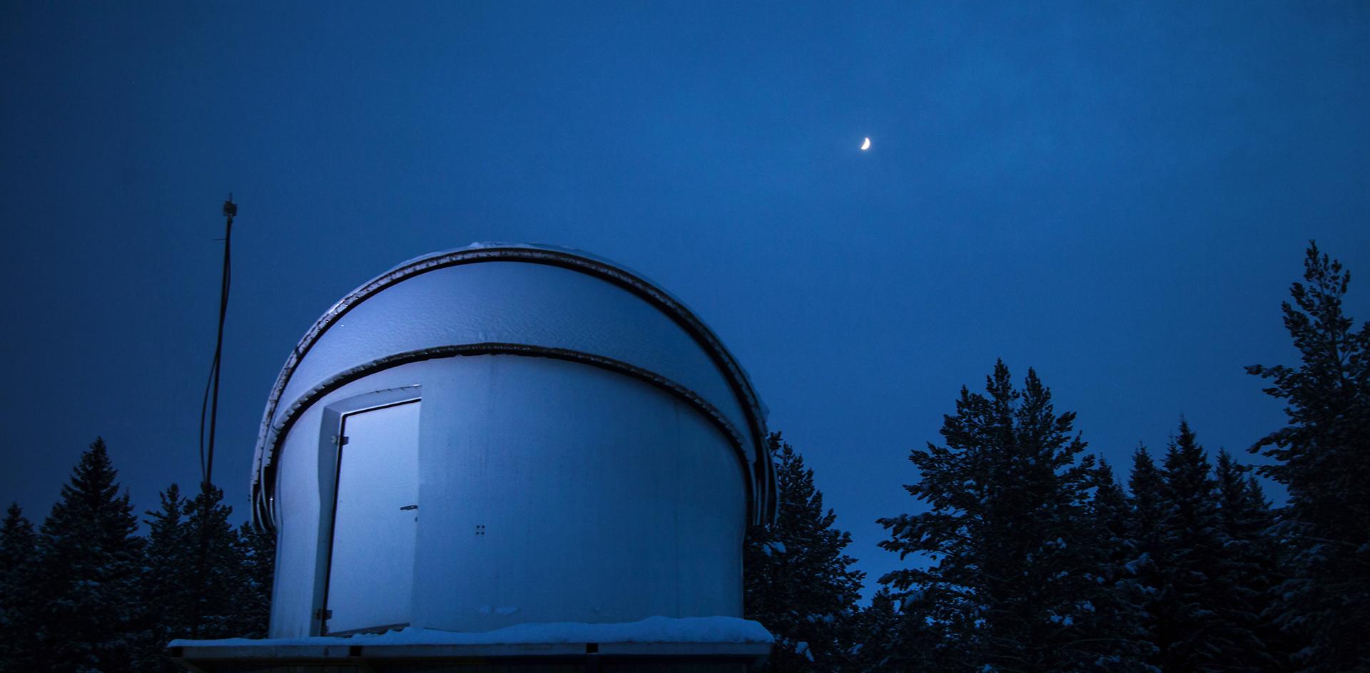 Космическая связь: репортаж из Коуровской обсерватории