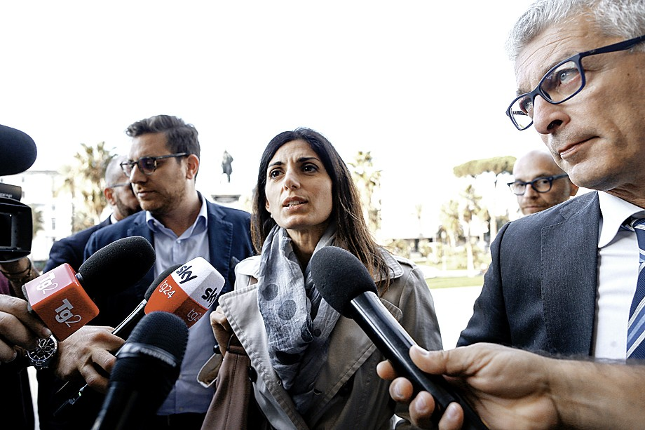 Вирджиния Елена Раджги, мэр Рима, на процессе «Мафия Капитале»