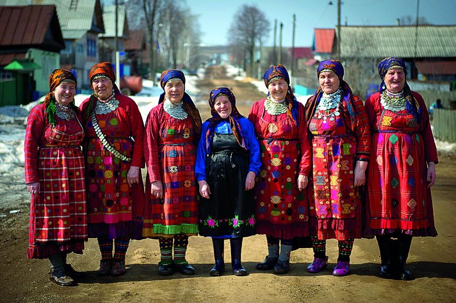 Фольклорный коллектив «Бурановские бабушки»