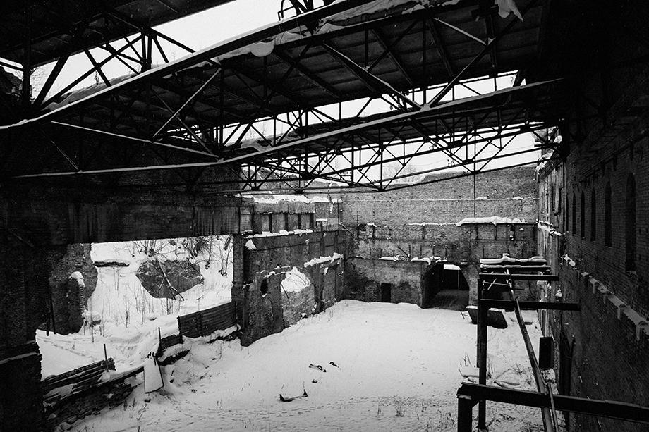 Цех старинного железоделательного завода