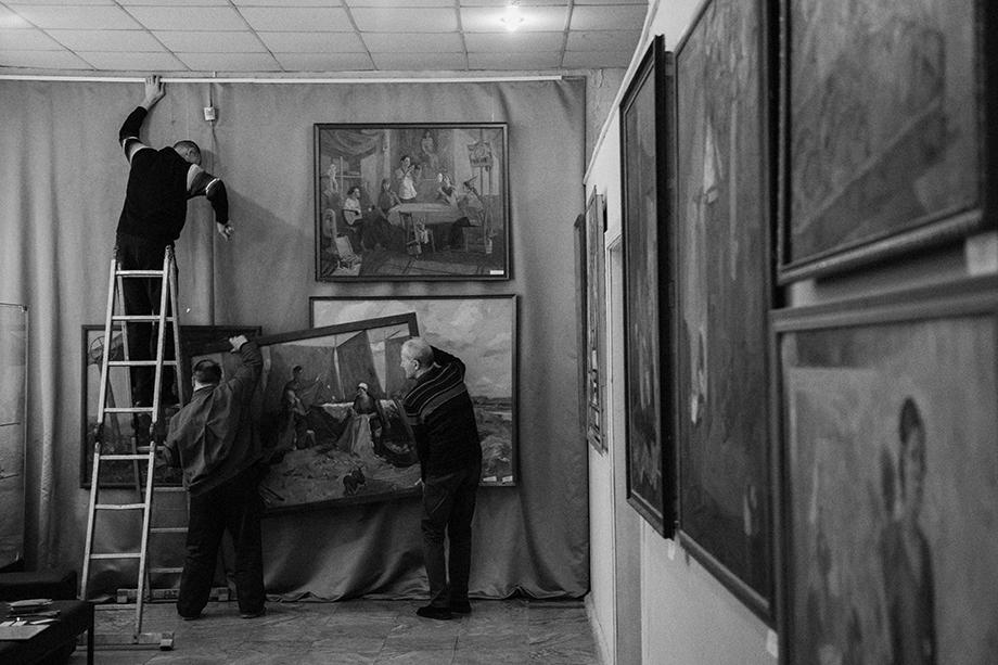 Смена экспозиции в историко-краеведческом музее