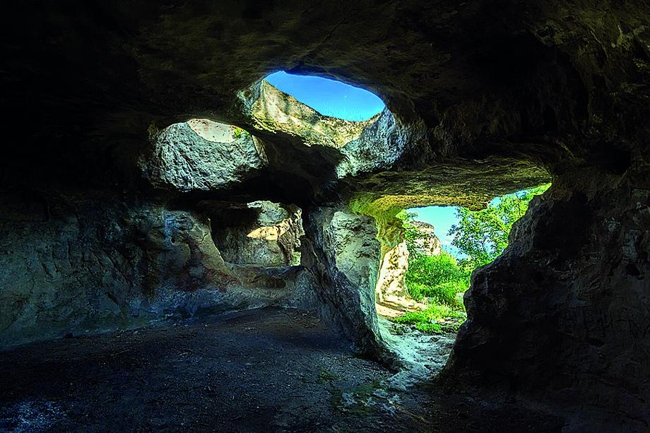 Подземное городище Бакла