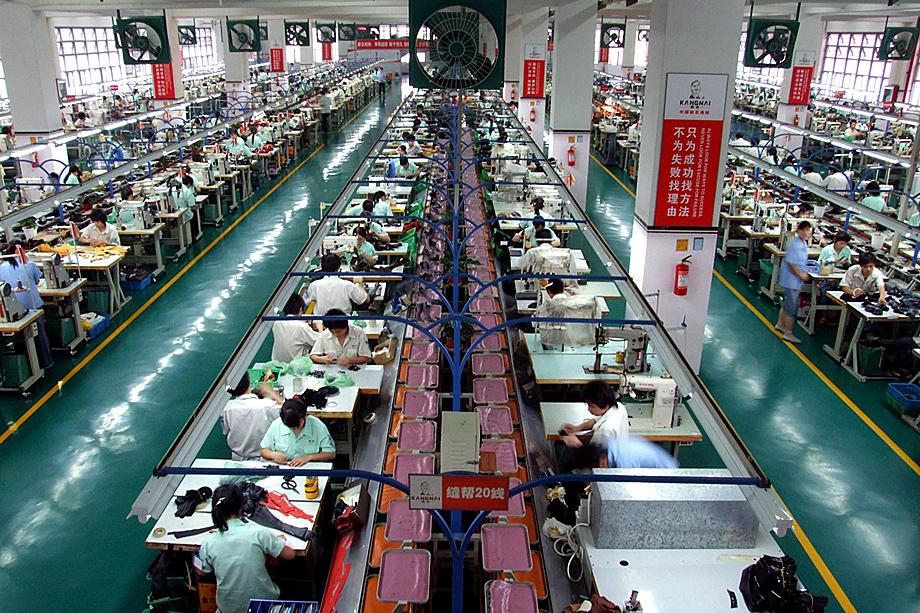 Обувная фабрика «Каннай» в городе Вэньчжоу