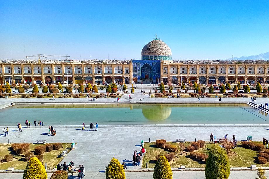 Площадь Накш-э Джахан. Исфахан
