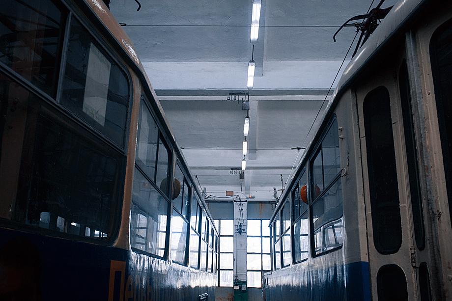 Место, где ночуют трамваи