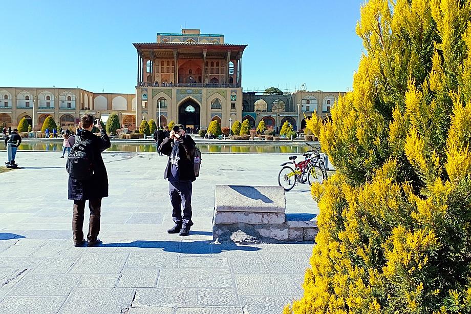 Дворец Али-Капу. Исфахан