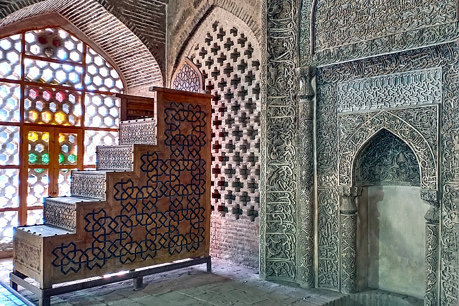 Михраб Пятничной мечети. Исфахан