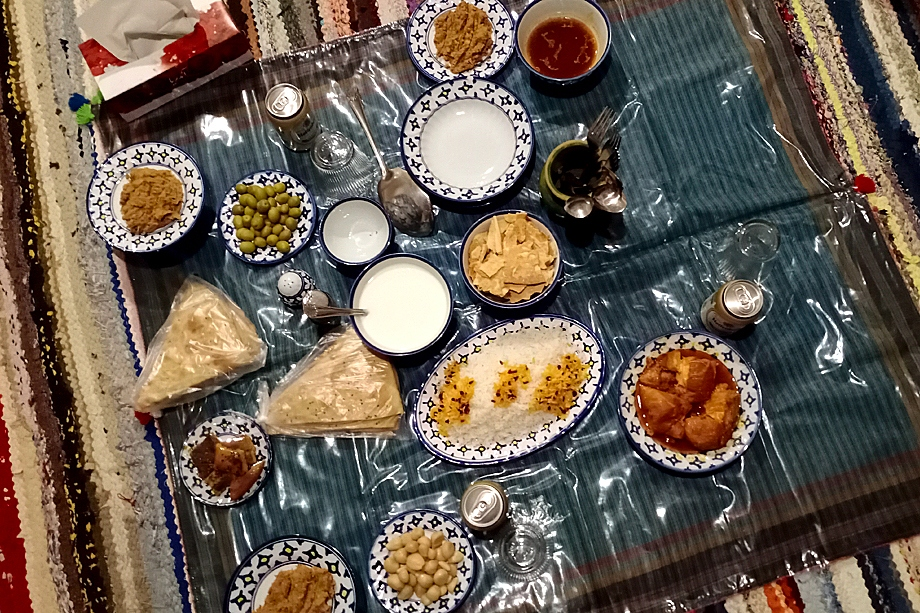 Традиционный ужин в караван-сарае