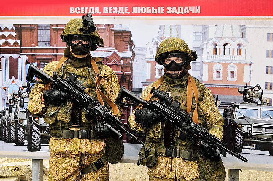 Бойцы 810-ой отдельной бригады морской пехоты Черноморского флота