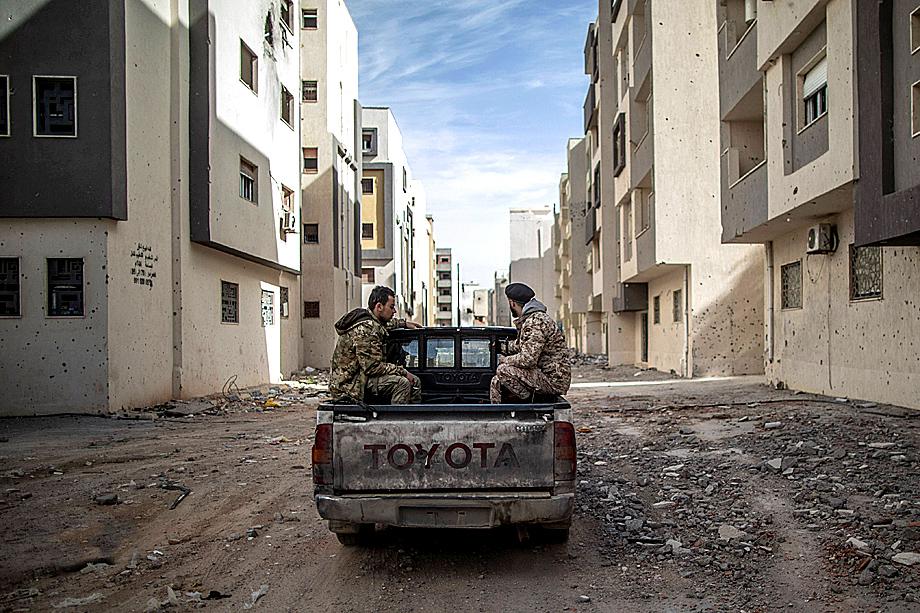Улицы Триполи сегодня