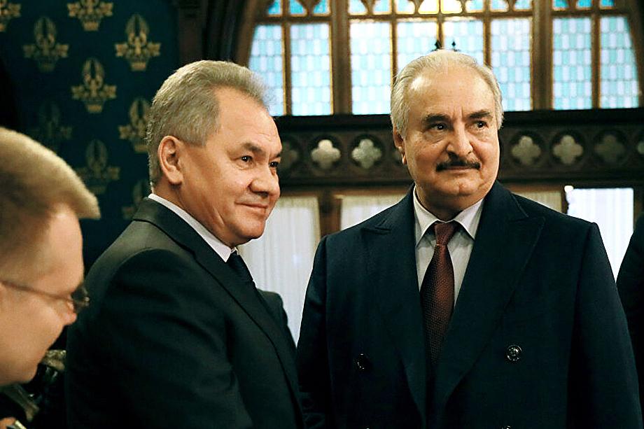 Встреча Халифа Хафтара с Сергеем Шойгу