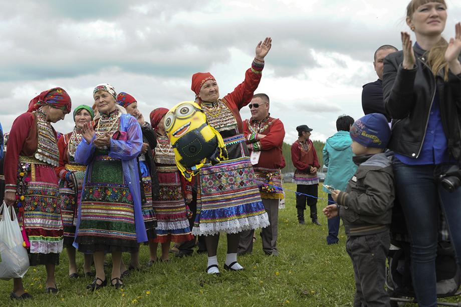 Праздник Ага-Пайрам. Деревня Марийские Карши, 2017 год