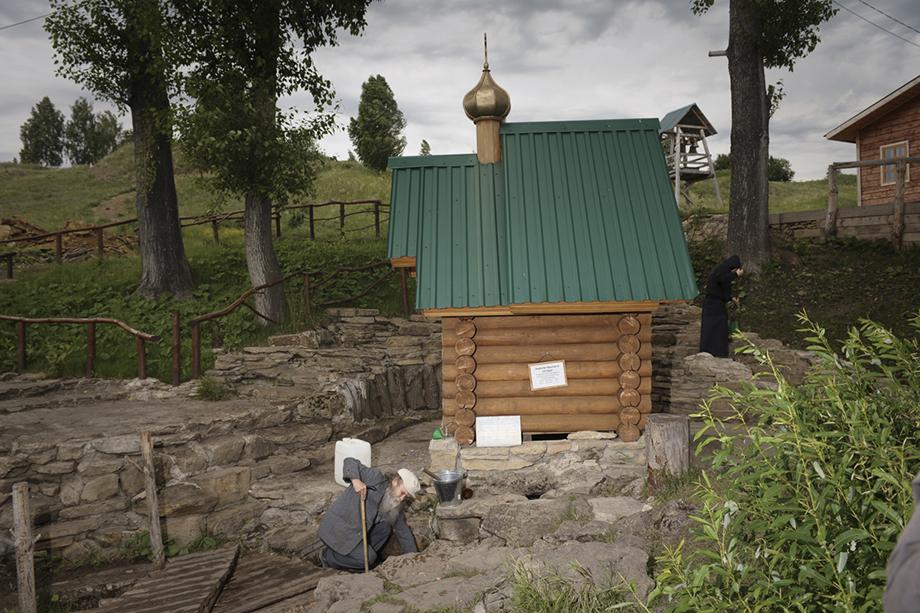 Боголюбский источник. Деревня Сарсы, 2018 год