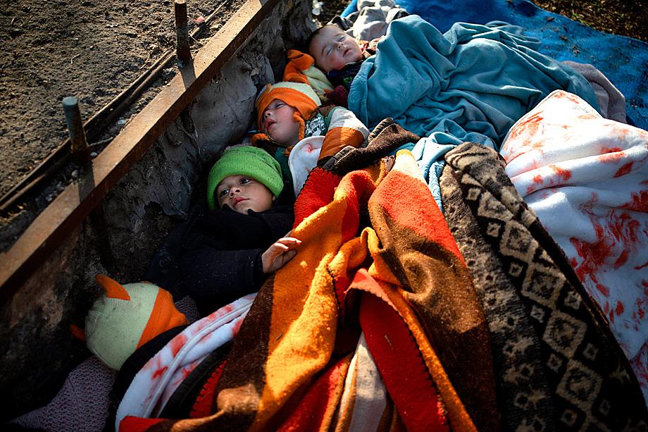 Условия в лагерях для беженцев катастрофически далеки от человеческих