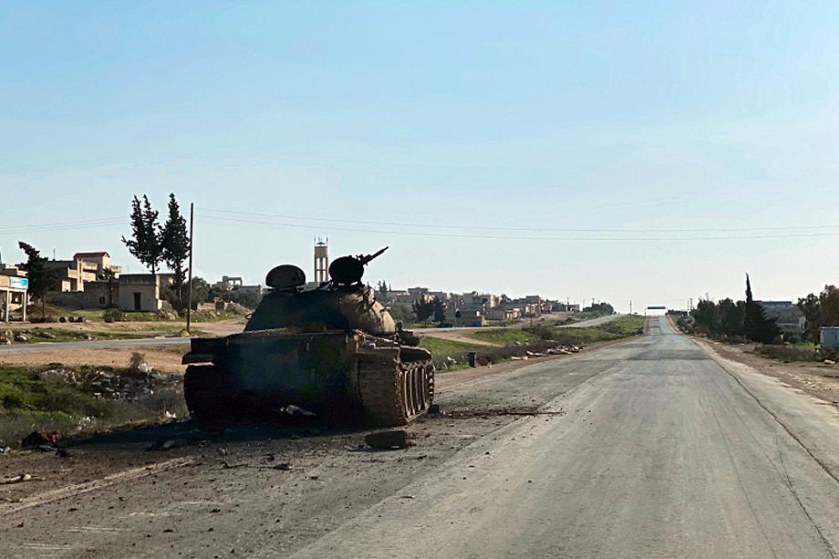 Трасса М-5 Дамаск – Алеппо, освобождённая от боевиков