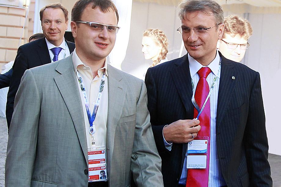 Олег Греф (слева) и Герман Греф