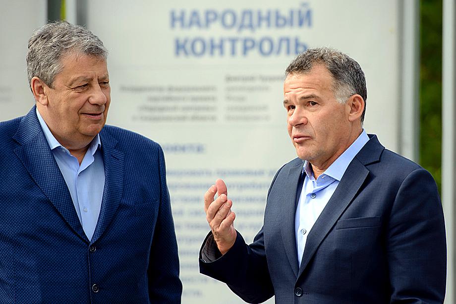 Аркадий Чернецкий (слева) и Владимир Тунгусов