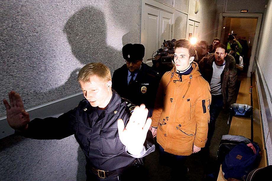 Подозреваемый в создании детской суицидной «группы смерти» в соцсети «ВКонтакте» Филипп Будейкин.