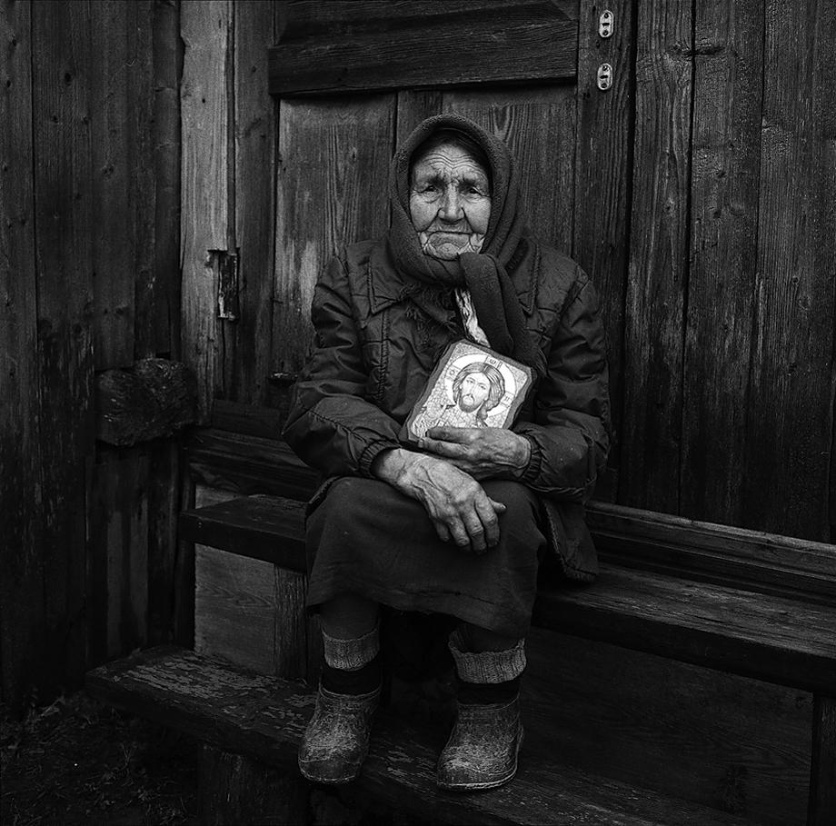 Портрет с Господом. Брянская область, 2017год
