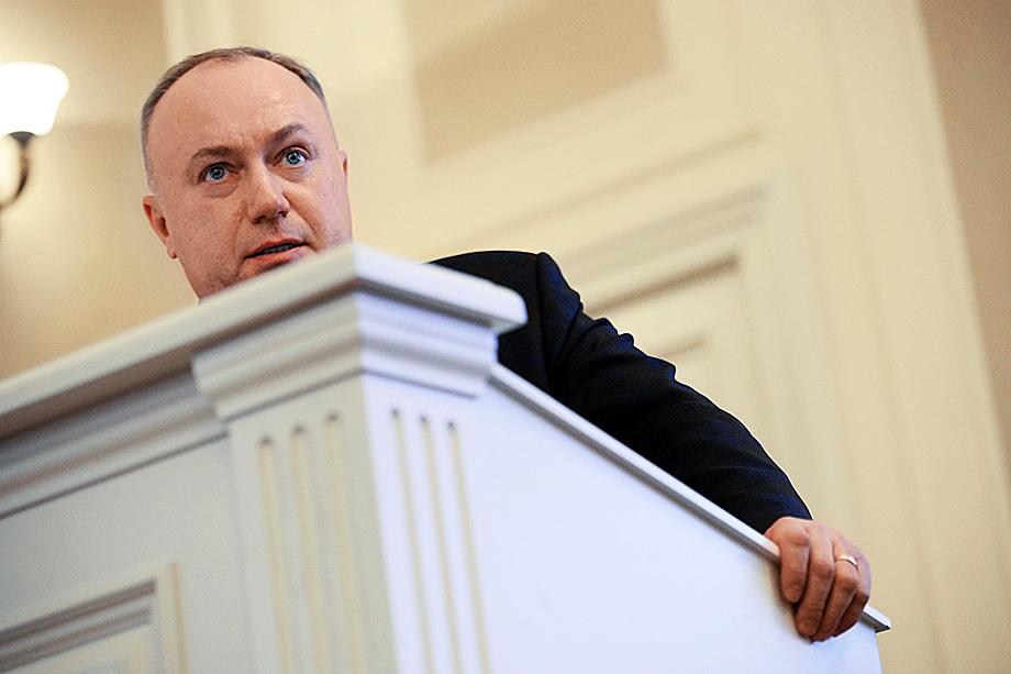Председатель правления ПАО «Совфрахт» Дмитрий Пурим
