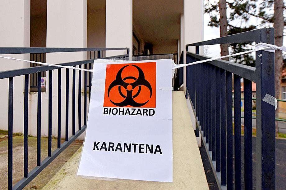 Землетрясение подтолкнуло правительство Хорватии ужесточить карантинные меры