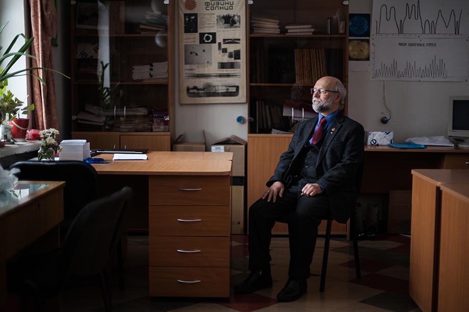Директор Коуровской обсерватории Андрей Соболев