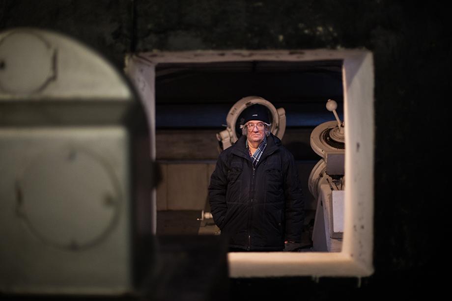 Сотрудник Коуровской обсерватории Александр Калинин