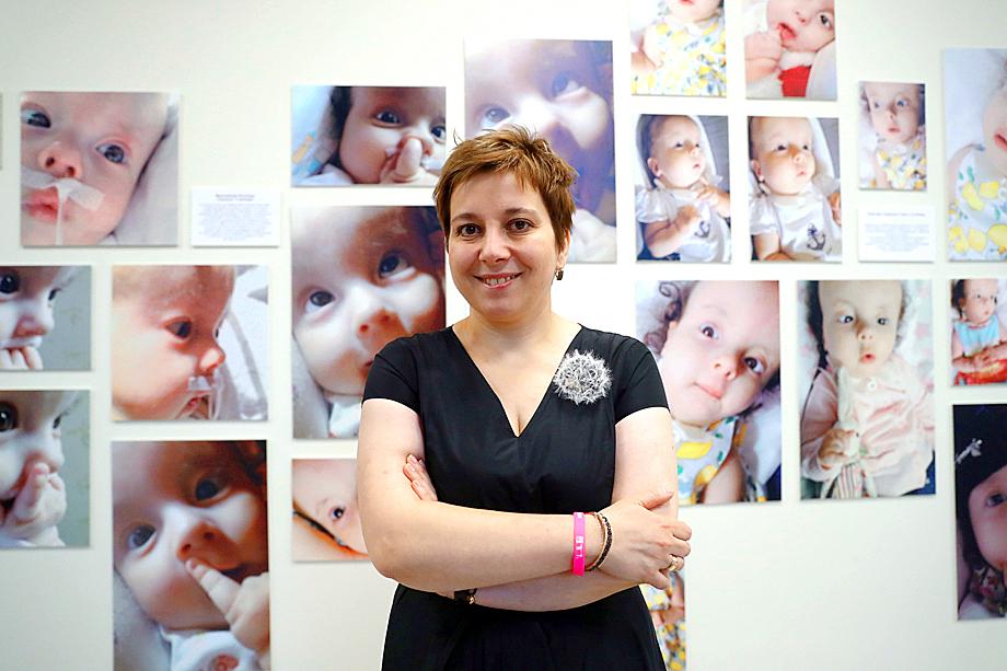 Президент фонда помощи хосписам «Вера» Анна Федермессер