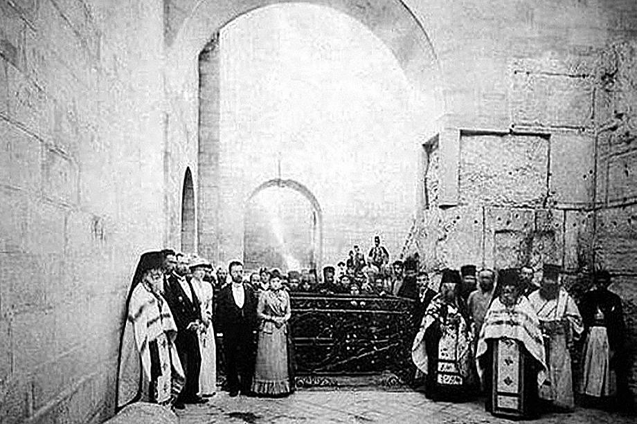 Освящение Порога Судных Врат в Иерусалиме. Александровское подворье. 11 марта 1891 года