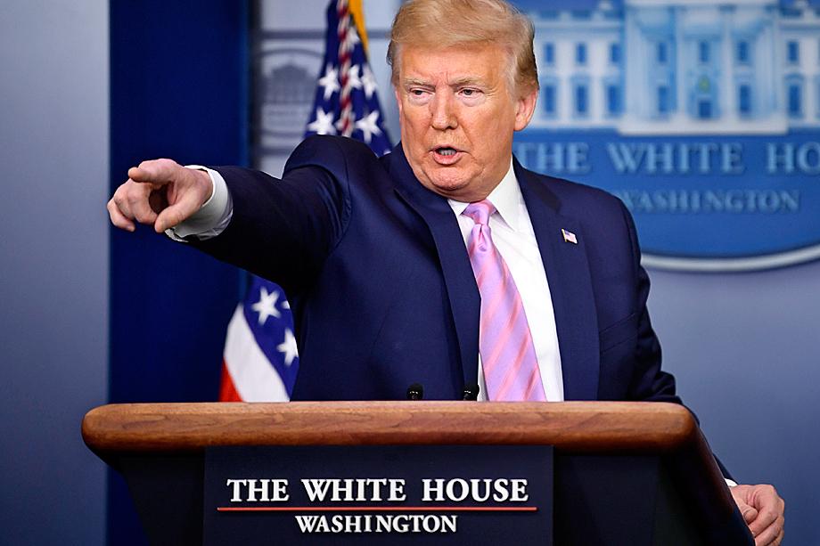 Президент Трамп поддержал увольнение капитана авианосца Theodore Roosevelt
