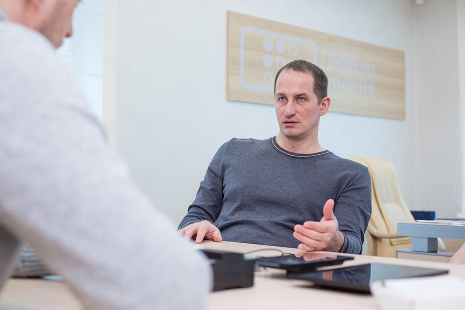 Основатель и директор iRidium mobile Сергей Королёв.