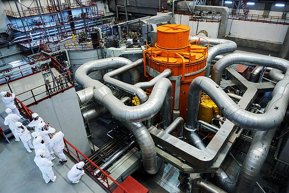 Энергоблок № 4 на Белоярской атомной электростанции.