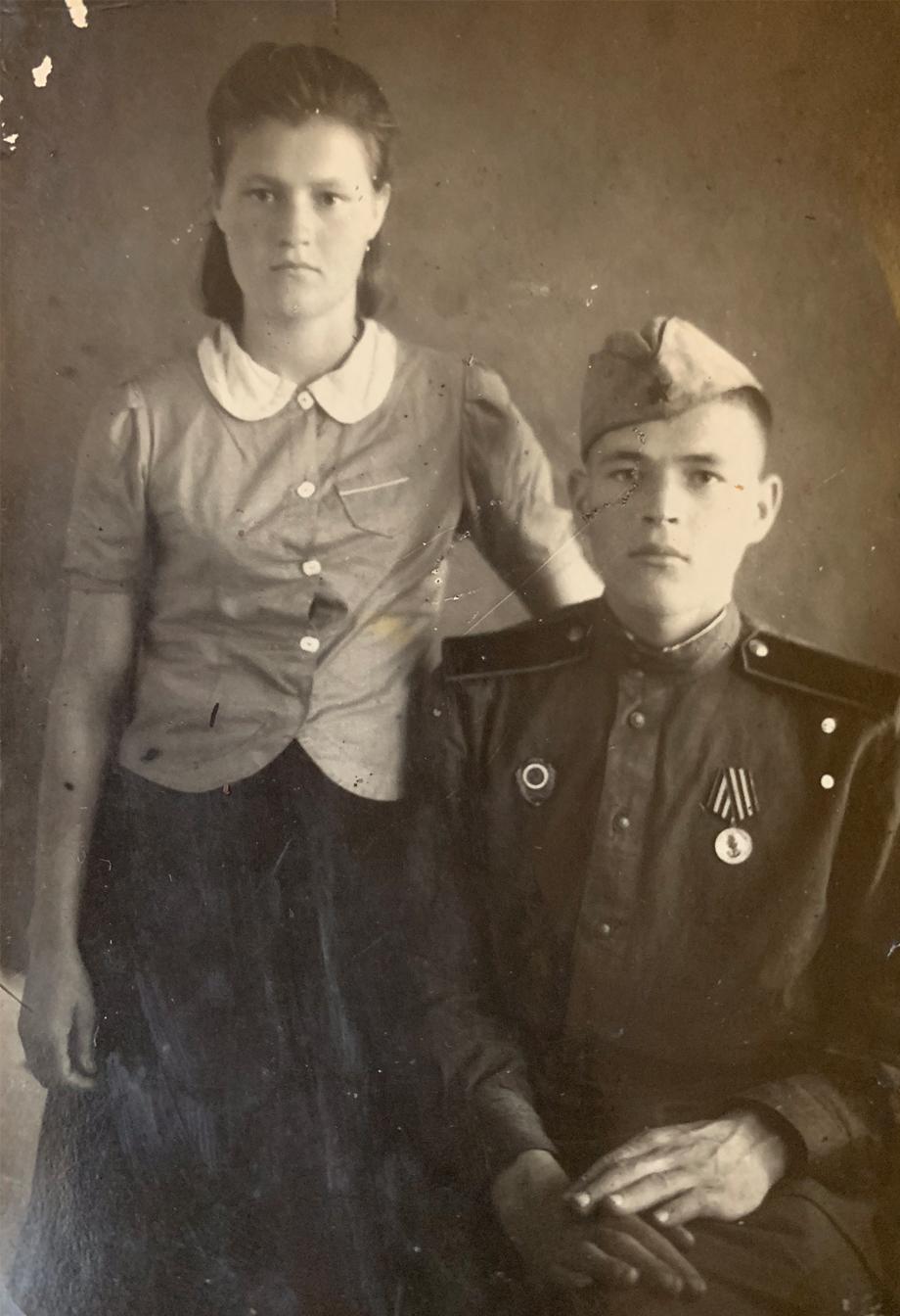 В 1943 году Елена Голубова работала в колхозе