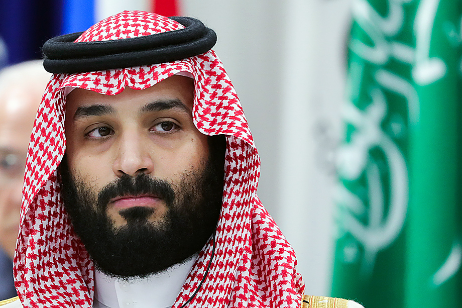 Принц Мухаммед ибн Салман.