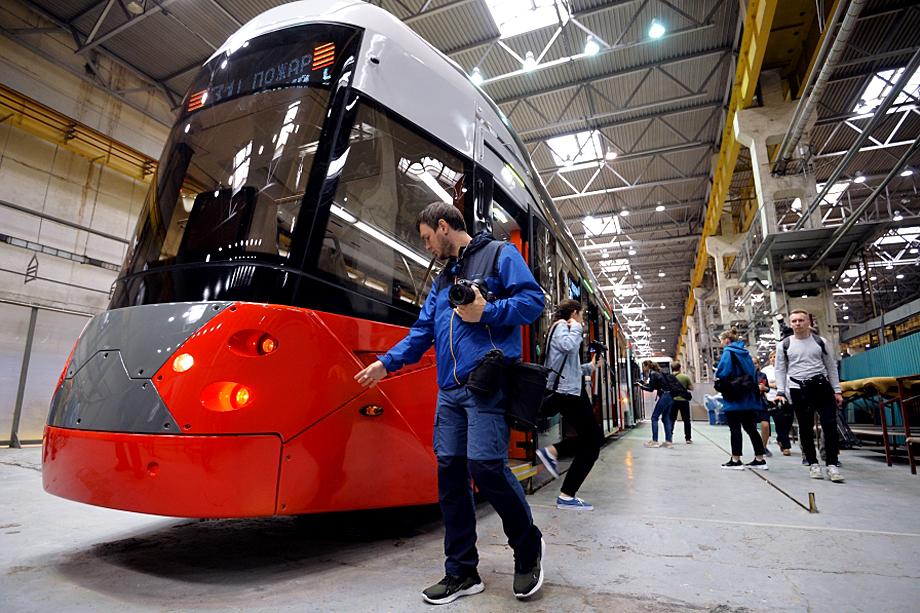 Модель трамвая 71-418 – результат борьбы промышленных дизайнеров с консервативным руководством.