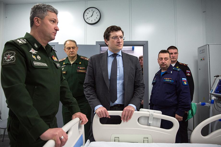 Открытие медицинского центра на территории 422-го военного госпиталя