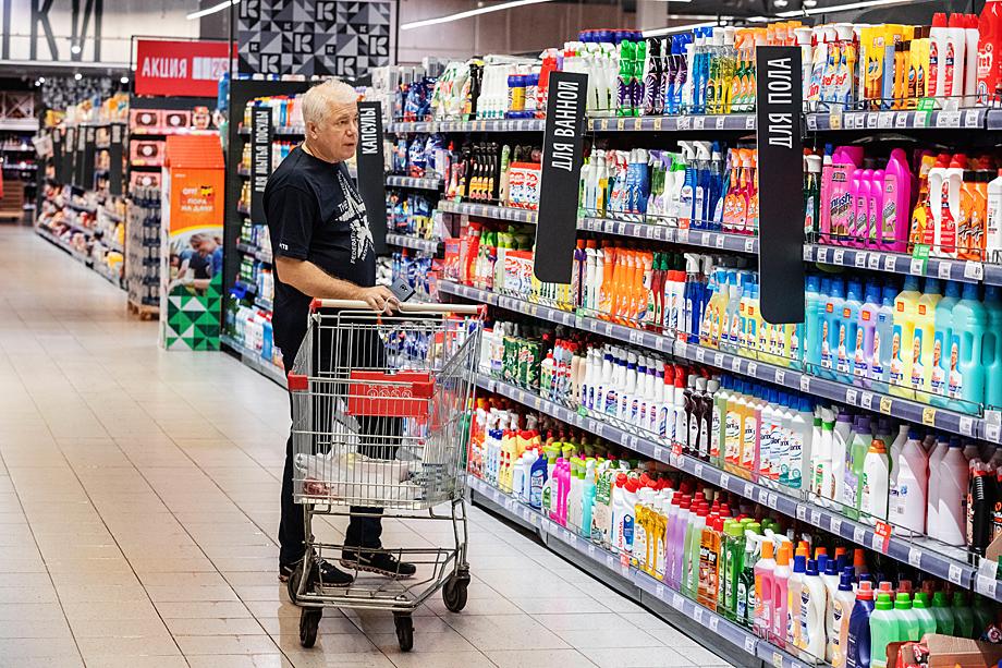 В самоизоляции люди меньше стали покупать средства ухода за собой, но спрос на бытовую химию возрос.