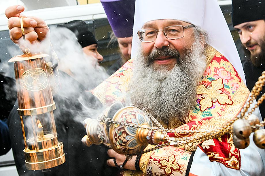 Митрополит Екатеринбургский и Верхотурский Кирилл.