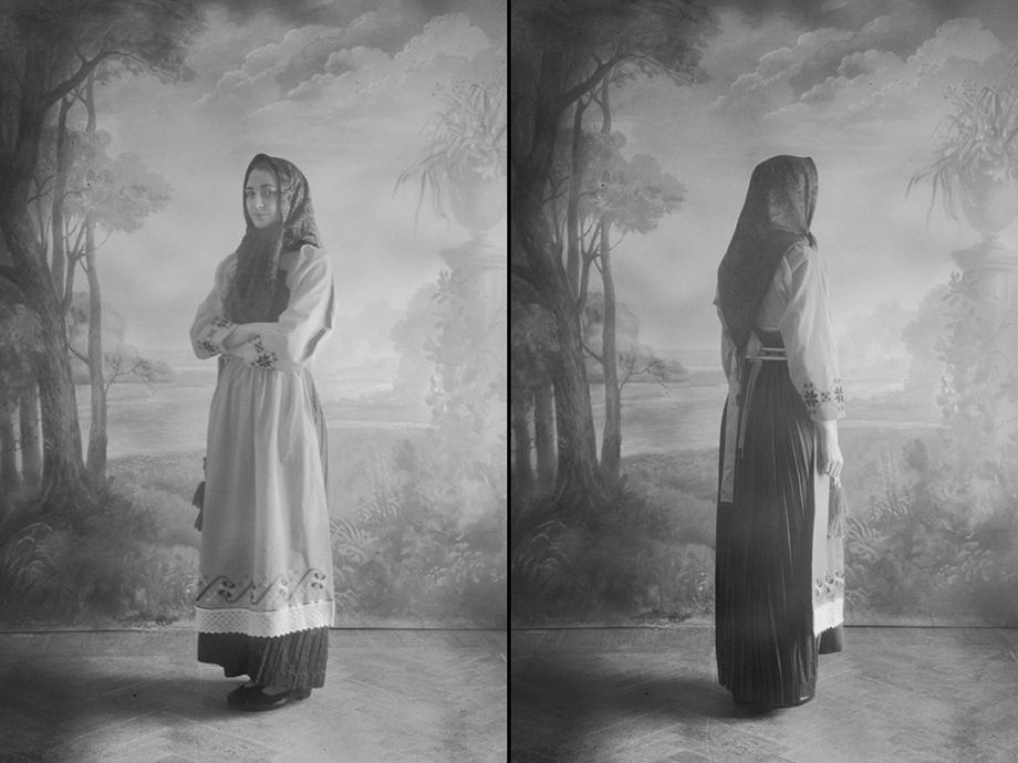 В конце XIX века крестьянскую моду заполоняет круглый сарафан.