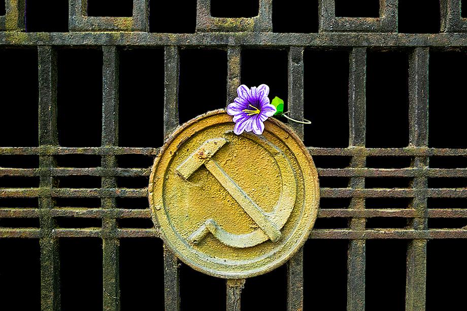 Говоря о характерных элементах кладбищенского самовыражения, нельзя не упомянуть ограду.