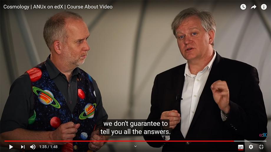 Цикл онлайн-курсов по астрофизике Брайана Шмидта, лауреата Нобелевской премии по физике 2011 года, считается одним из лучших по версии слушателей.