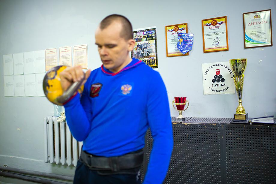 Семикратный чемпион мира Михаил Квашнин.