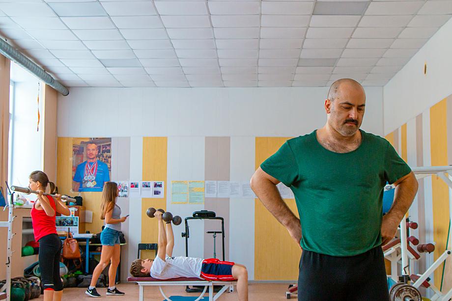 Тренер Ирины Родионовой Рустам Керимов.