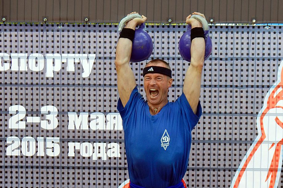Сергей Бестужев, 15-кратный чемпион мира среди ветеранов.