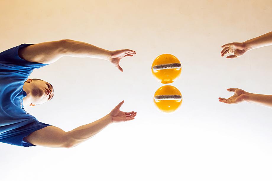 Гиревое жонглирование.