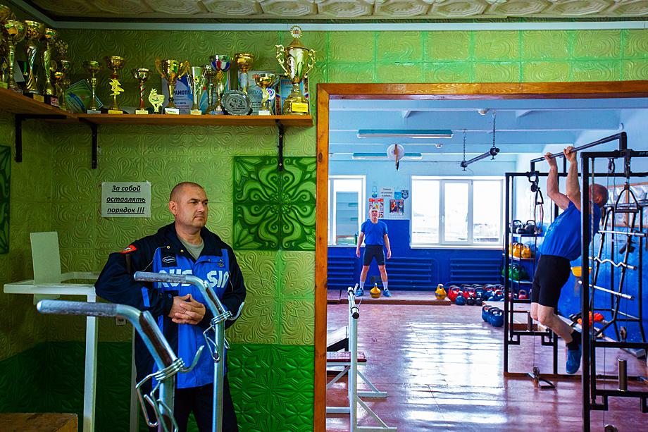Тренер Александр Чагаев.